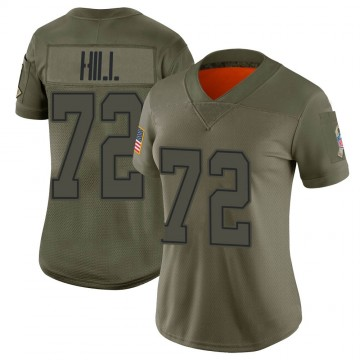 Women's Nike Dallas Cowboys Trysten Hill Camo 2019 Salute to Service Jersey - Limited