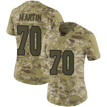 Women's Nike Dallas Cowboys Zack Martin Camo 2018 Salute to Service Jersey - Limited