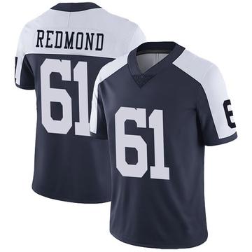 Youth Nike Dallas Cowboys Adam Redmond Red Navy Alternate Vapor Untouchable Jersey - Limited