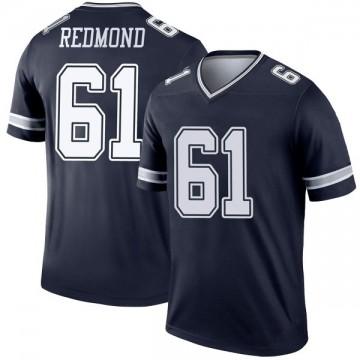 Youth Nike Dallas Cowboys Adam Redmond Red Navy Jersey - Legend