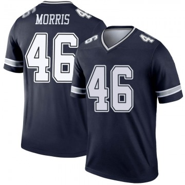 Youth Nike Dallas Cowboys Alfred Morris Navy Jersey - Legend