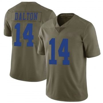 Youth Nike Dallas Cowboys Andy Dalton Green 2017 Salute to Service Jersey - Limited