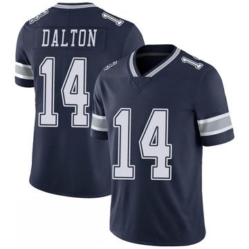 Youth Nike Dallas Cowboys Andy Dalton Navy 100th Vapor Jersey - Limited