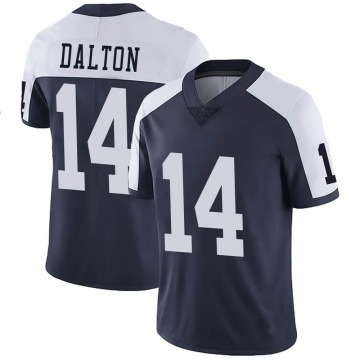 Youth Nike Dallas Cowboys Andy Dalton Navy Alternate Vapor Untouchable Jersey - Limited
