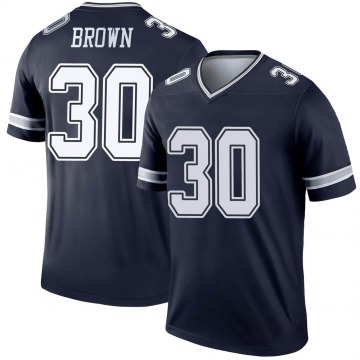 Youth Nike Dallas Cowboys Anthony Brown Brown Navy Jersey - Legend