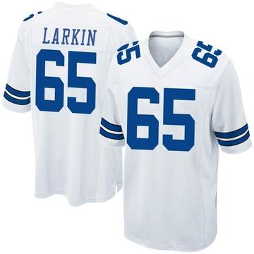 Youth Nike Dallas Cowboys Austin Larkin White Jersey - Game