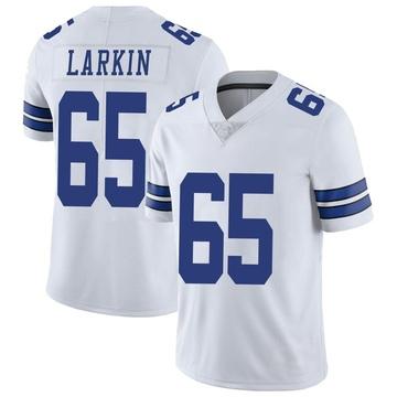 Youth Nike Dallas Cowboys Austin Larkin White Vapor Untouchable Jersey - Limited