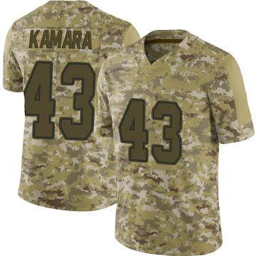 Youth Nike Dallas Cowboys Azur Kamara Camo 2018 Salute to Service Jersey - Limited