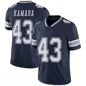 Youth Nike Dallas Cowboys Azur Kamara Navy 100th Vapor Jersey - Limited