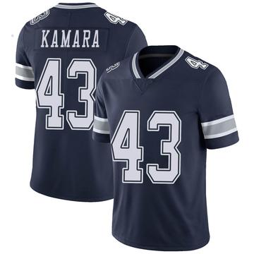 Youth Nike Dallas Cowboys Azur Kamara Navy Team Color Vapor Untouchable Jersey - Limited
