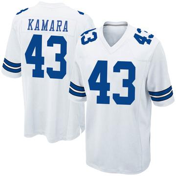 Youth Nike Dallas Cowboys Azur Kamara White Jersey - Game