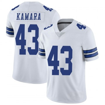 Youth Nike Dallas Cowboys Azur Kamara White Vapor Untouchable Jersey - Limited