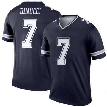 Youth Nike Dallas Cowboys Ben DiNucci Navy Jersey - Legend