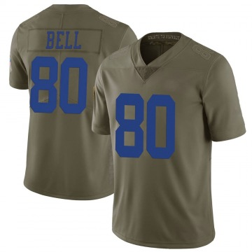 Youth Nike Dallas Cowboys Blake Bell Green 2017 Salute to Service Jersey - Limited