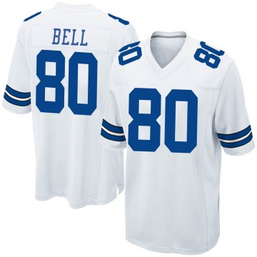 Youth Nike Dallas Cowboys Blake Bell White Jersey - Game