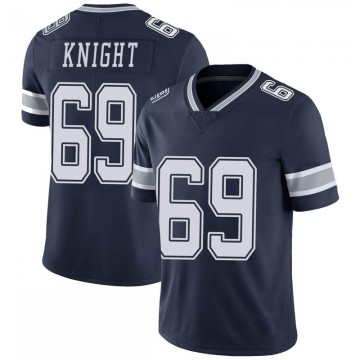 Youth Nike Dallas Cowboys Brandon Knight Navy 100th Vapor Jersey - Limited