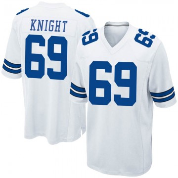 Youth Nike Dallas Cowboys Brandon Knight White Jersey - Game
