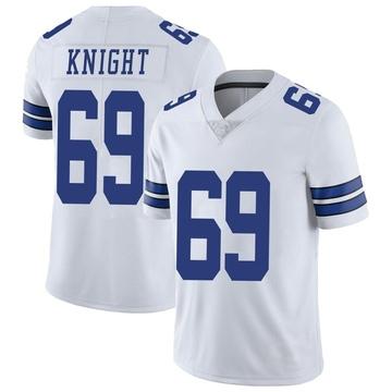 Youth Nike Dallas Cowboys Brandon Knight White Vapor Untouchable Jersey - Limited