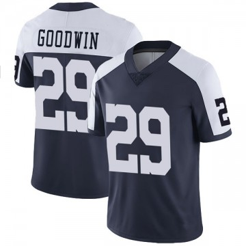 Youth Nike Dallas Cowboys C.J. Goodwin Navy Alternate Vapor Untouchable Jersey - Limited