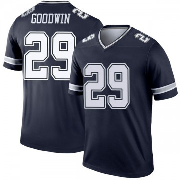 Youth Nike Dallas Cowboys C.J. Goodwin Navy Jersey - Legend