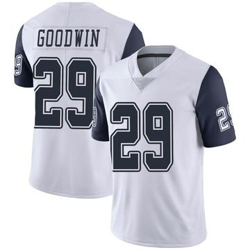 Youth Nike Dallas Cowboys C.J. Goodwin White Color Rush Vapor Untouchable Jersey - Limited