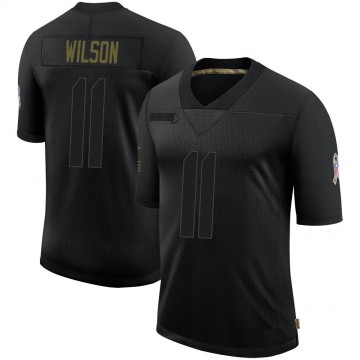Youth Nike Dallas Cowboys Cedrick Wilson Black 2020 Salute To Service Jersey - Limited