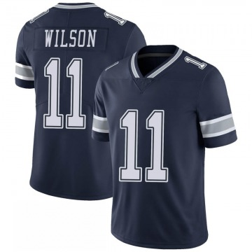 Youth Nike Dallas Cowboys Cedrick Wilson Navy 100th Vapor Jersey - Limited