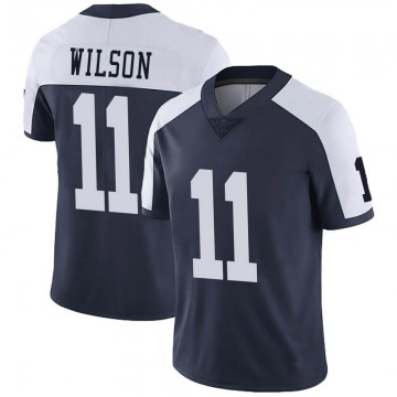 Youth Nike Dallas Cowboys Cedrick Wilson Navy Alternate Vapor Untouchable Jersey - Limited