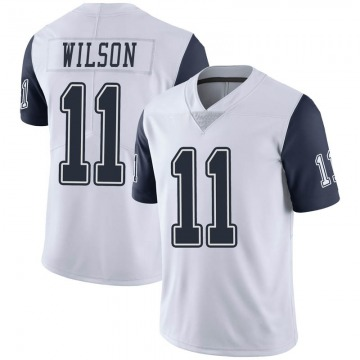 Youth Nike Dallas Cowboys Cedrick Wilson White Color Rush Vapor Untouchable Jersey - Limited