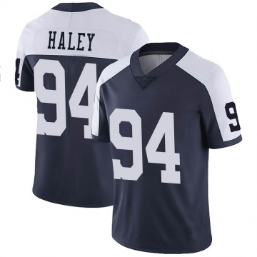 Youth Nike Dallas Cowboys Charles Haley Navy Alternate Vapor Untouchable Jersey - Limited