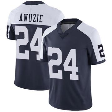 Youth Nike Dallas Cowboys Chidobe Awuzie Navy Alternate Vapor Untouchable Jersey - Limited
