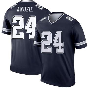 Youth Nike Dallas Cowboys Chidobe Awuzie Navy Jersey - Legend