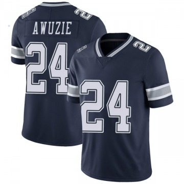 Youth Nike Dallas Cowboys Chidobe Awuzie Navy Team Color Vapor Untouchable Jersey - Limited