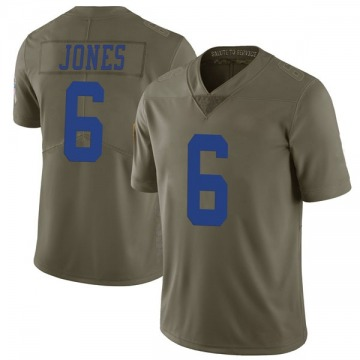 Youth Nike Dallas Cowboys Chris Jones Green 2017 Salute to Service Jersey - Limited