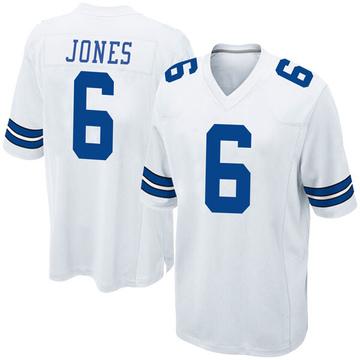 Youth Nike Dallas Cowboys Chris Jones White Jersey - Game