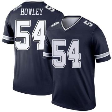 Youth Nike Dallas Cowboys Chuck Howley Navy Jersey - Legend