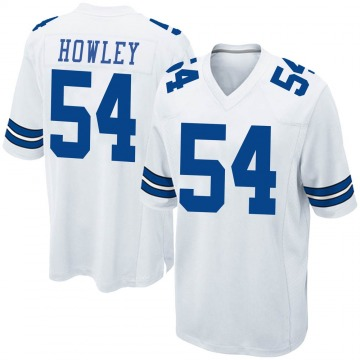 Youth Nike Dallas Cowboys Chuck Howley White Jersey - Game