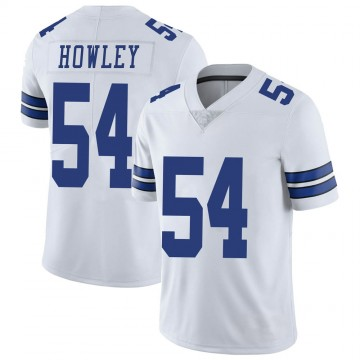 Youth Nike Dallas Cowboys Chuck Howley White Vapor Untouchable Jersey - Limited