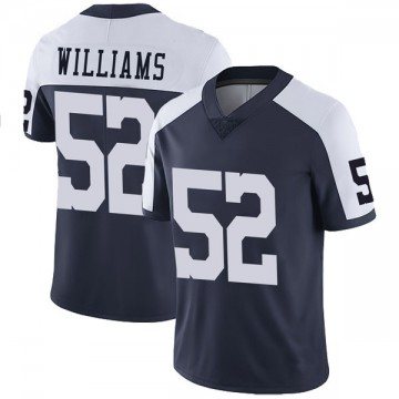 Youth Nike Dallas Cowboys Connor Williams Navy Alternate Vapor Untouchable Jersey - Limited