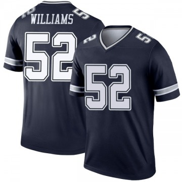 Youth Nike Dallas Cowboys Connor Williams Navy Jersey - Legend