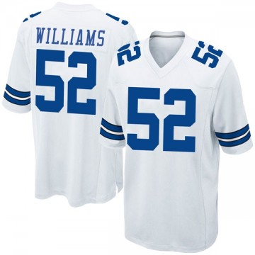 Youth Nike Dallas Cowboys Connor Williams White Jersey - Game