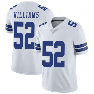 Youth Nike Dallas Cowboys Connor Williams White Vapor Untouchable Jersey - Limited
