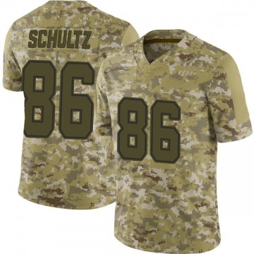 Youth Nike Dallas Cowboys Dalton Schultz Camo 2018 Salute to Service Jersey - Limited
