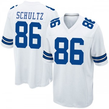 Youth Nike Dallas Cowboys Dalton Schultz White Jersey - Game