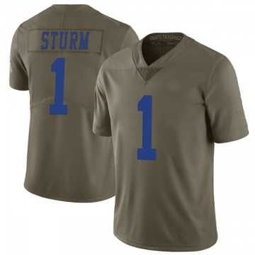 Youth Nike Dallas Cowboys Dalton Sturm Green 2017 Salute to Service Jersey - Limited