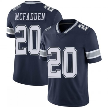 Youth Nike Dallas Cowboys Darren McFadden Navy 100th Vapor Jersey - Limited