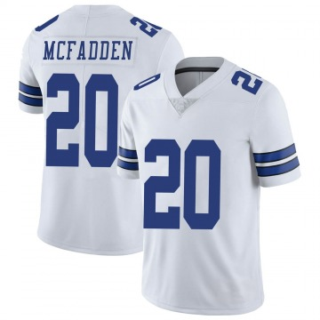 Youth Nike Dallas Cowboys Darren McFadden White Vapor Untouchable Jersey - Limited