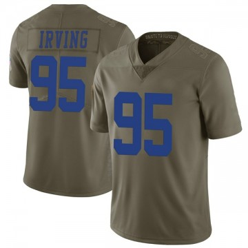 Youth Nike Dallas Cowboys David Irving Green 2017 Salute to Service Jersey - Limited