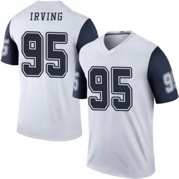 Youth Nike Dallas Cowboys David Irving White Color Rush Jersey - Legend