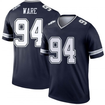 Youth Nike Dallas Cowboys DeMarcus Ware Navy Jersey - Legend
